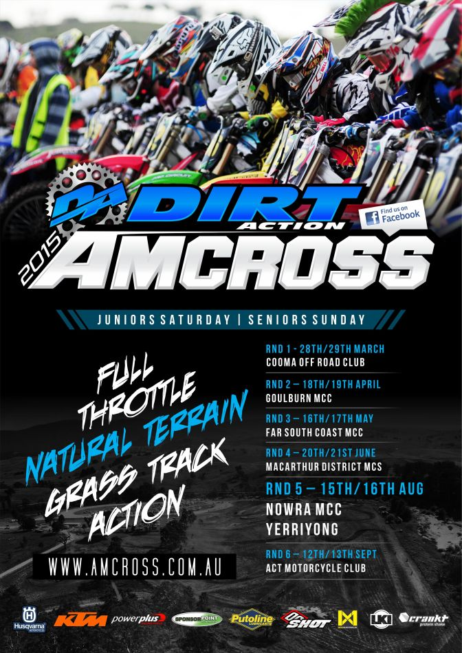 DIRT ACTION AMCROSS IS COMING